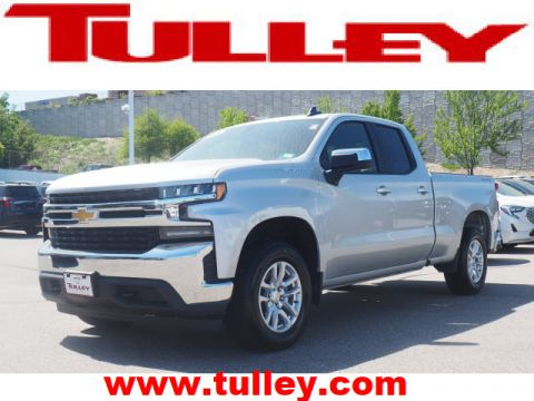 Pre-Owned 2020 Chevrolet Silverado 1500 4WD Double Cab 147 LT